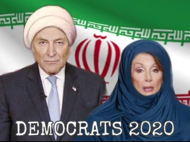 Trump Retweets Fake Photo Of Nancy Pelosi Wearing A Hijab In Front Of Iranian Flag With Chuck Schumer | Iran Opens Fire On Their Own People | Experts Say Mullah Regime on Brink of Collapse
