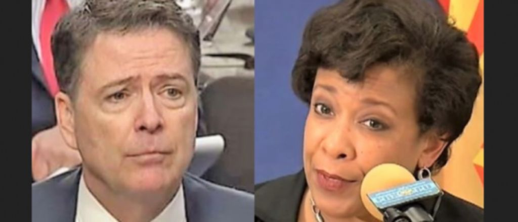 """Loretta Lynch Denies Telling James Comey to Call Hillary Investigation a """"Matter"""" – Someone is Lying"""