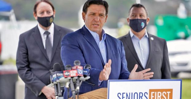 Watch: DeSantis Offers Bonus For Police From Liberal Cities To Defect To Florida