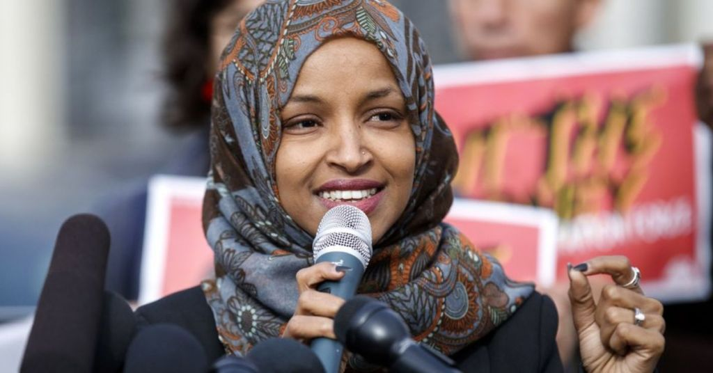 Jihad Forever: Ilhan Slams 'Peace', Literally - Showing Her Embedded Extremist Roots