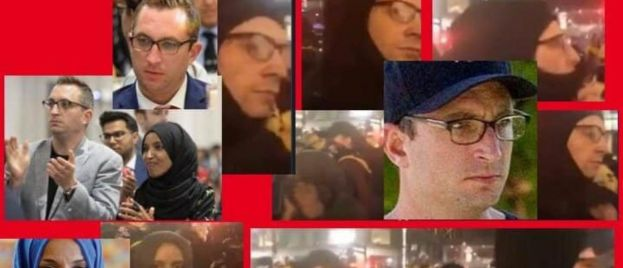 CONFIRMED: Ilhan Omar and Lover Tim Mynett Were Seen at the MN Trump Riots!  PHOTOS AND VIDEO — (Facial Recognition Confirmation)