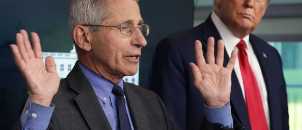 Fake News Stumped: Dr. Anthony Fauci Backs Trump On 'Downplaying' Coronavirus