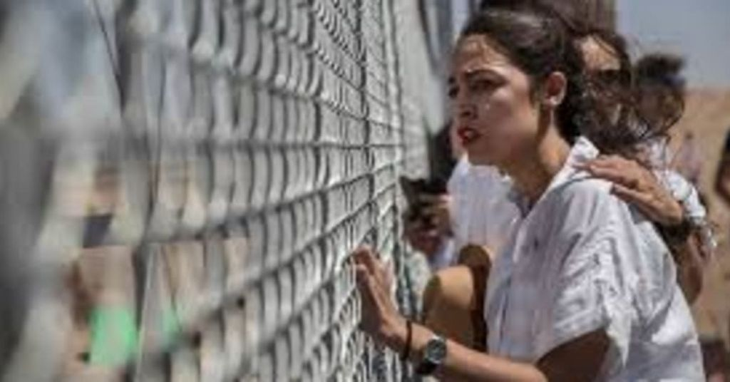 When Will AOC Do Her Photoshoot In Front Of Biden's Overflowing Migrant Camps?