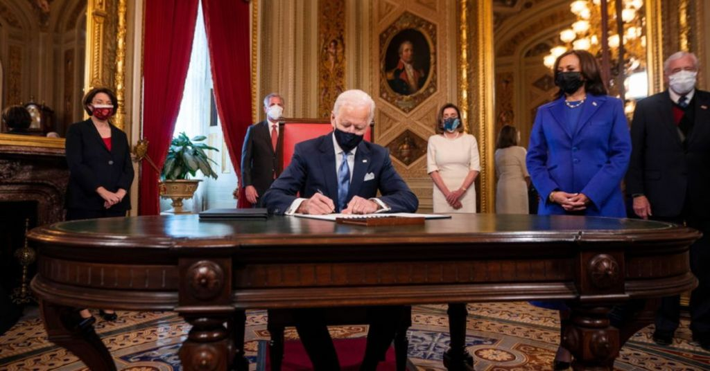 More States Are Creating Legislation To Prevent Biden Executive Orders From Being Followed