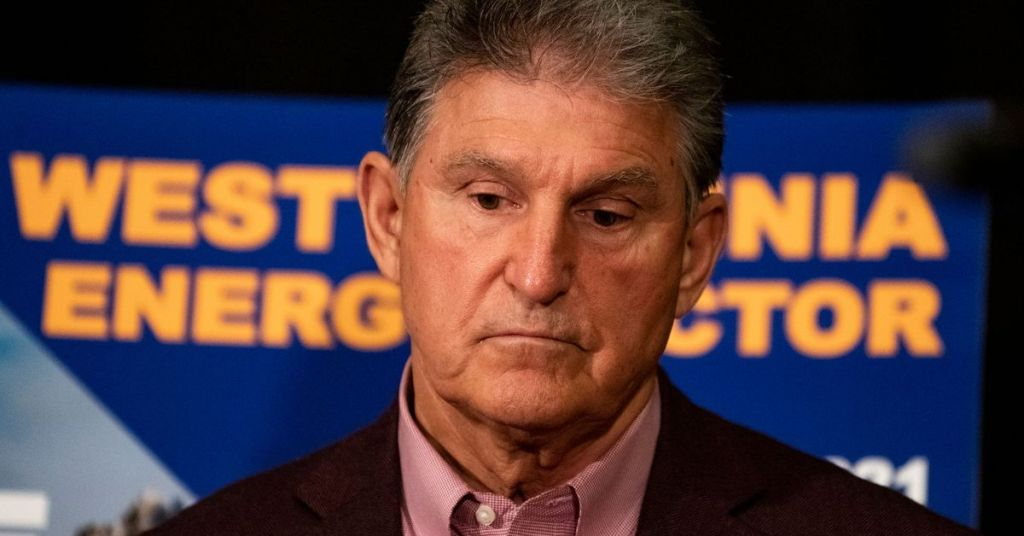 Watch: Manchin Steps It Up In the Battle Against His Party's Left