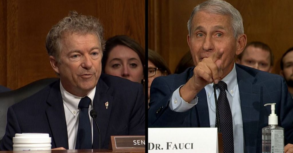 Fauci Going To Jail? Rand Paul's Fauci Referral Might End Him Up Behind Bars