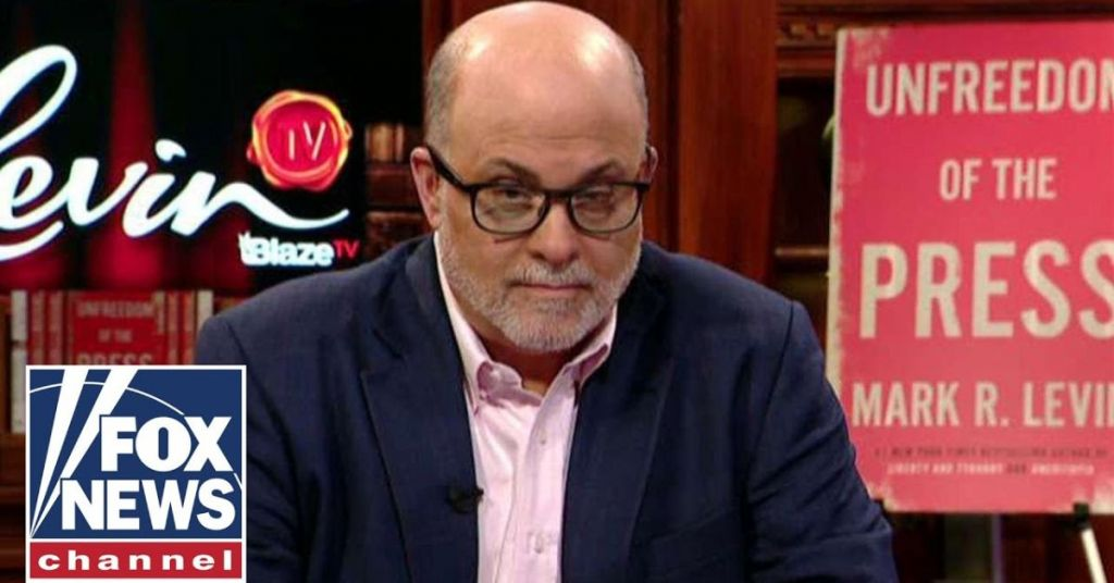 Watch: Mark Levin Tears A New One Into Media