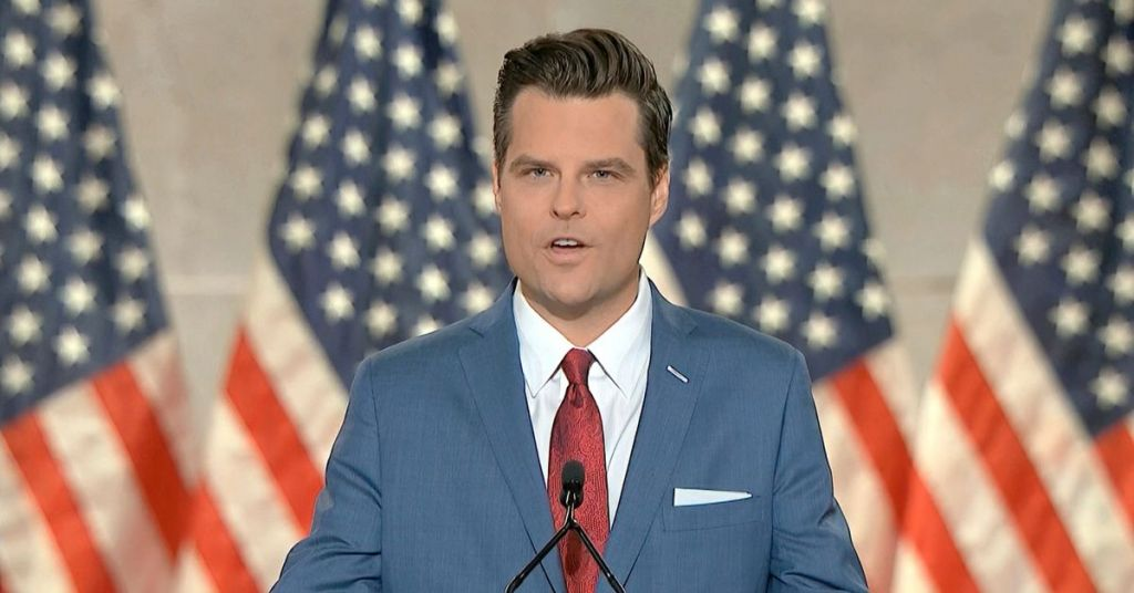 Media Trying Hard To Cancel Matt Gaetz - Will They Ever Report This Truth?