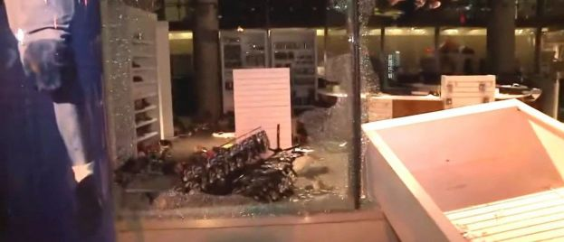 College Football Hall Of Fame LOOTED AND DESTROYED by Leftist Mob In Atlanta (VIDEO)
