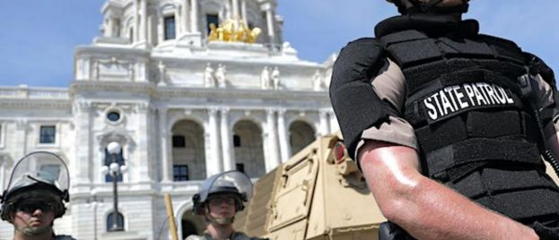 Some Might Fight Trump's Authority to Use Military on Riots