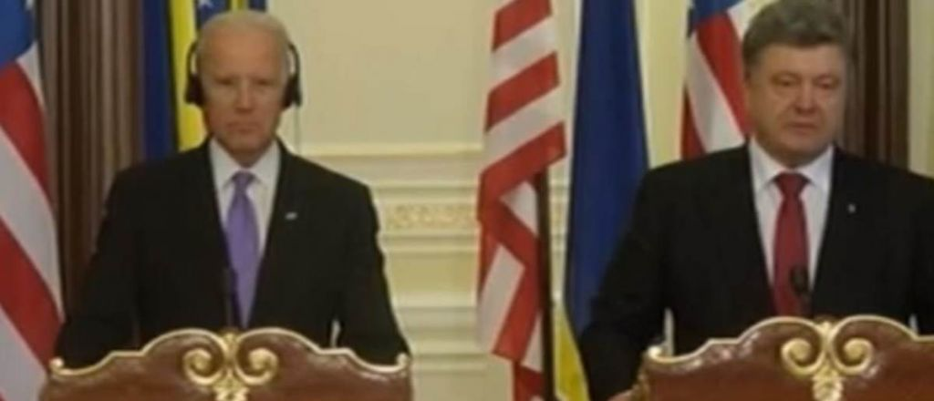 """""""You F*cked Up!"""" – Joe Biden Blasted Ukrainian President After Politico Report – Reveals Biden's Role in 2016 DNC Election Interference"""