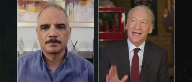 Maher Resurrects Paranoia About Trump Refusing to Leave Office, Tells Holder to Run in 2020
