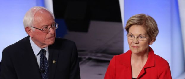 Report: Bernie Sanders Told Elizabeth Warren that a Woman Can't Win in 2020