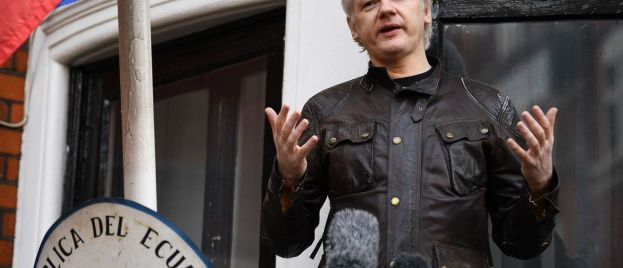 WikiLeaks founder Julian Assange charged with conspiring with 'Anonymous'