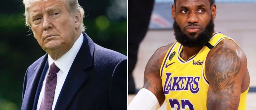 Watch: Trump Blasts Lebron, NBA & 'Woke' Culture To Limbaugh As NBA Ratings Tank