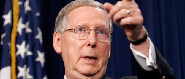 Mitch McConnell's Official Campaign Account Locked Out of Twitter For Posting Video of Hate Mob Threatening McConnell