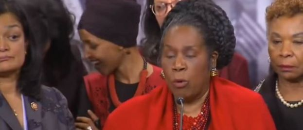 Dem Ilhan Omar Giggles and Jokes Behind Liberal Colleague Discussing US Casualties in Iraq (VIDEO)