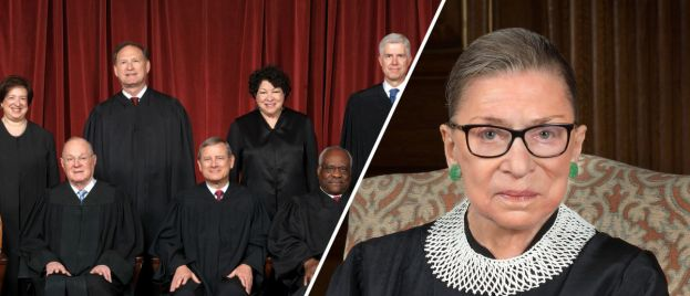 Ruth Bader Ginsburg Is Hospitalized with Chills and Fever