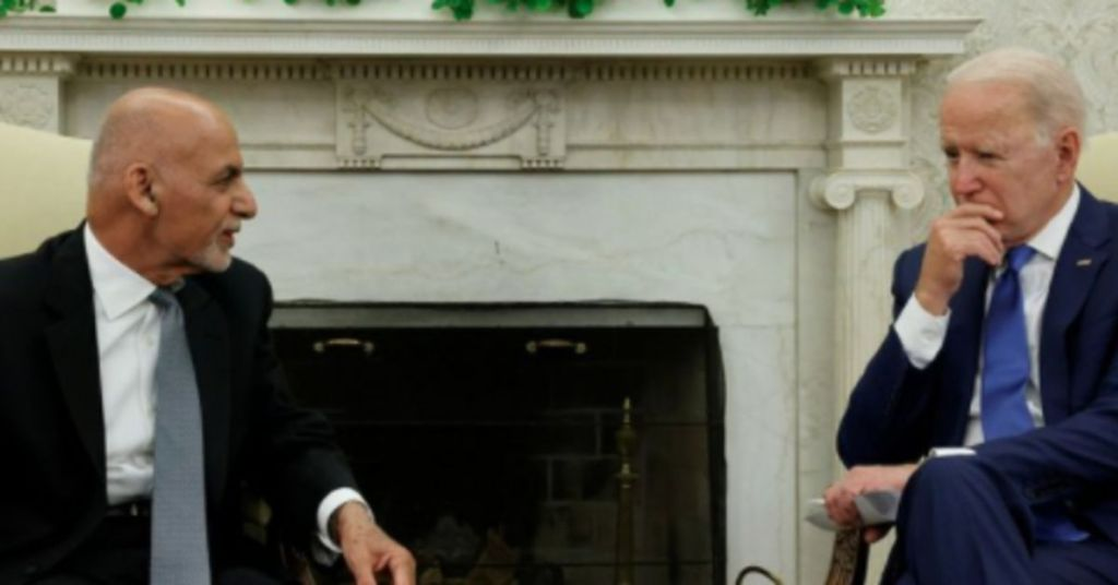 What Biden Told Afghan President To Do Should Be Criminal