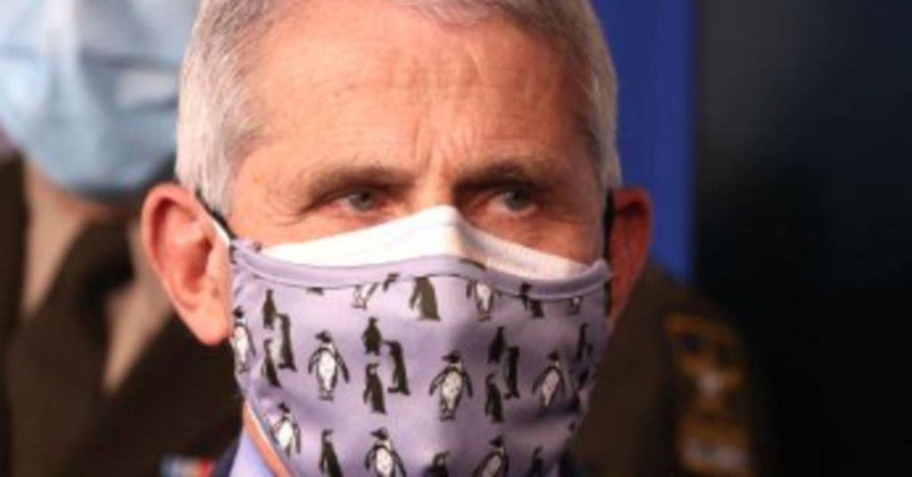 Get Used To The Masks, America: Biden Has Given Fauci More Power To Make Lives Miserable