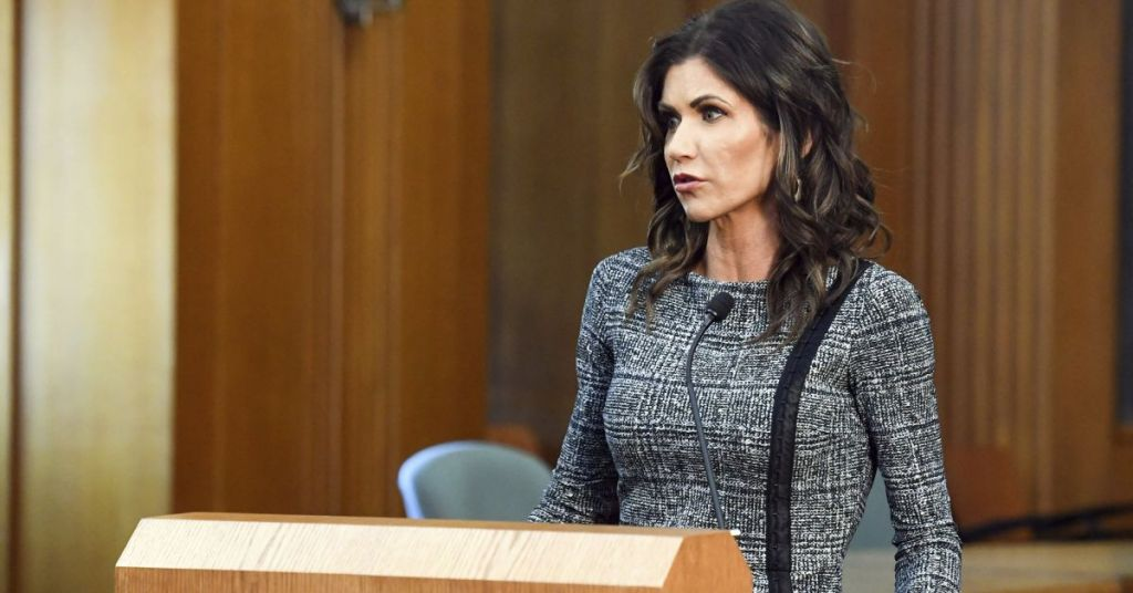 If More Governors Take The Stance That Kristi Noem Is Taking, America Would Be Safer