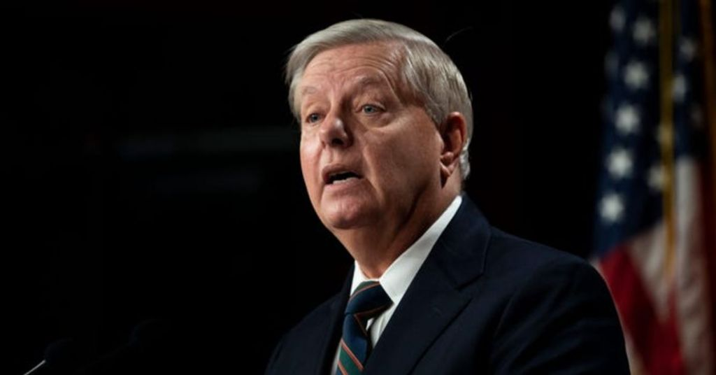 Lindsey Had Years To Take Care Of This, Now To Appease MAGA He Is Making It A Priority?