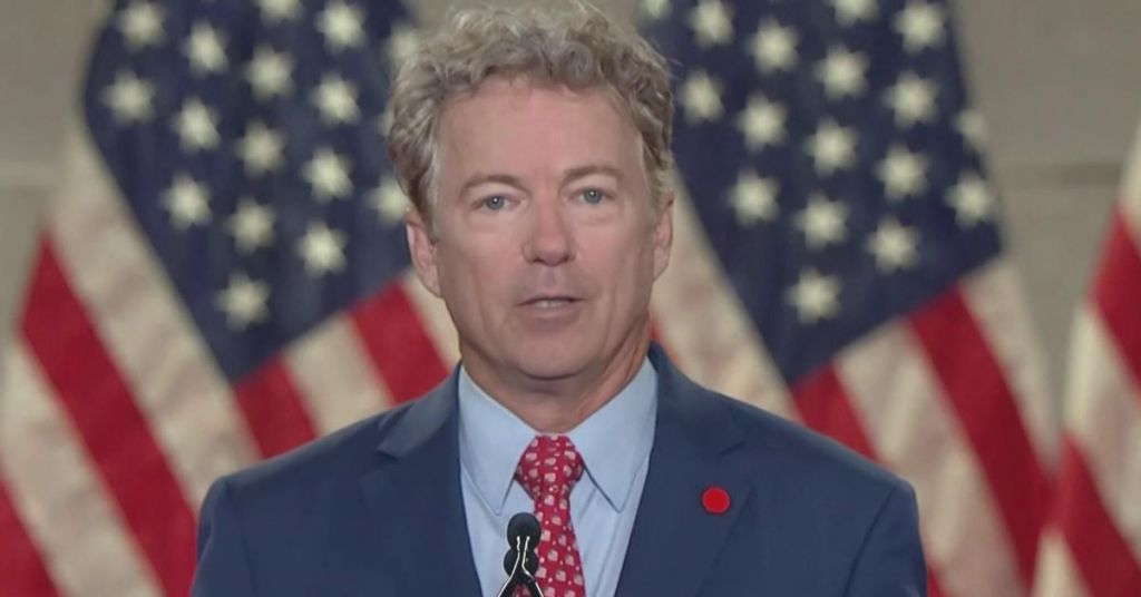 Rand Paul Rails Against Big-Tech, 'Anomalous' Election & These Which Compromised Democracy