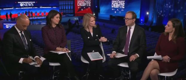 ABC Anchor Sweats After Debate: 'All The Candidates Are Tone Deaf on Race'