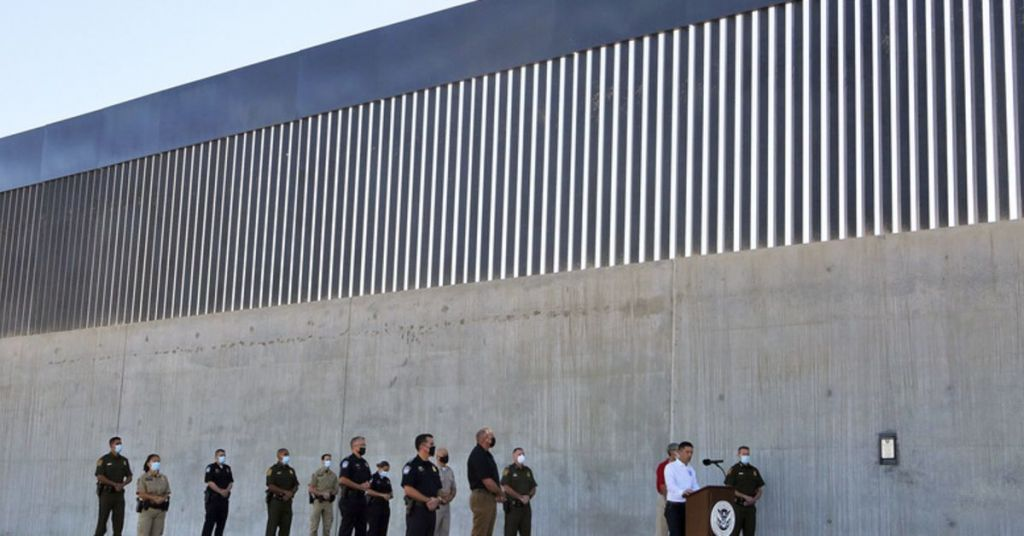 'Wasting Money': Biden's Plan For Border Wall Being Panned By Even Those Who Protested Trump