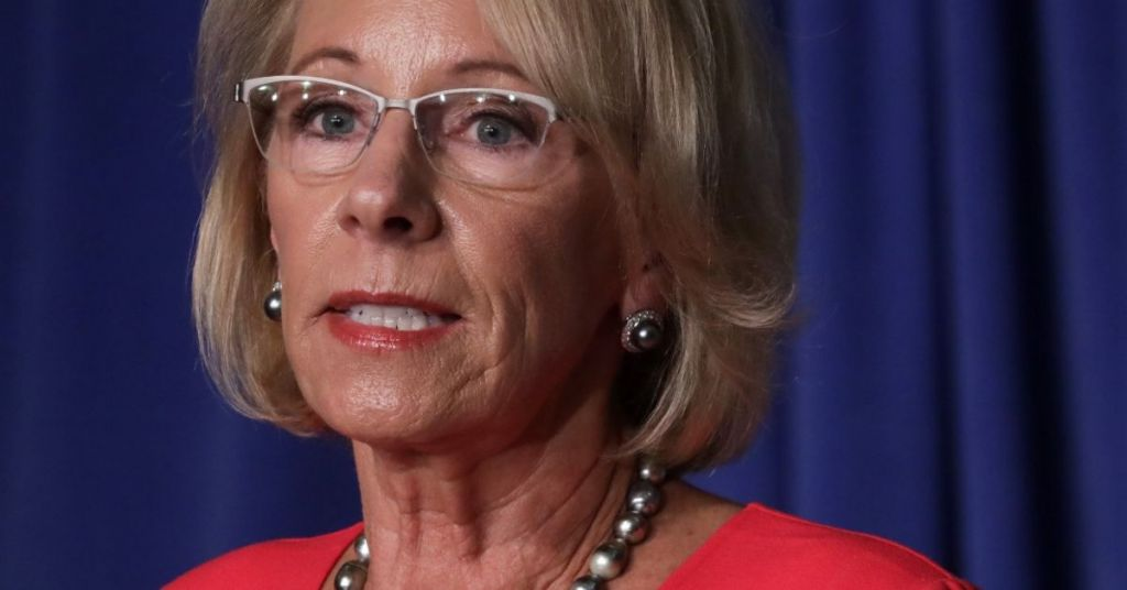 Fighting For The Truth Until The End: Devos Concerned Biden Will 'Change History', Urges Resistance