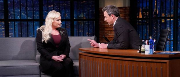 Meghan McCain Blasts Seth Meyers In Fiery Exchange On 'The View'