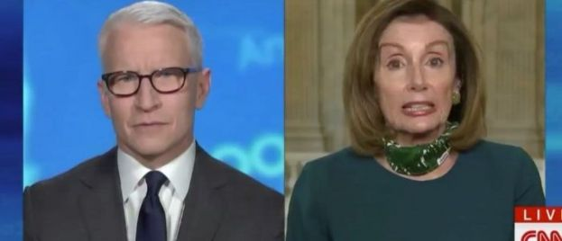 Nancy Pelosi Says Trump Shouldn't Take Hydroxychloroquine Because He Is 'Morbidly Obese'