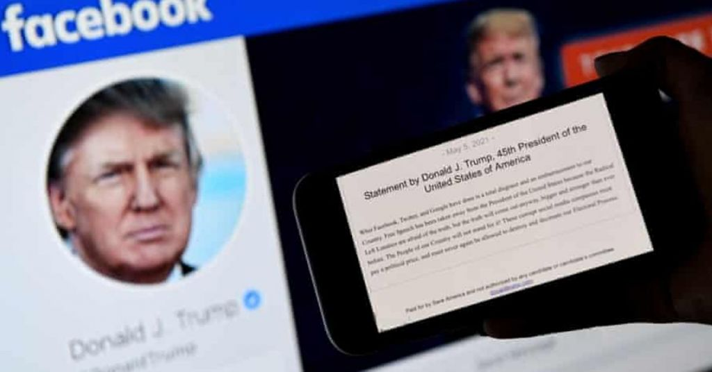 Trump DEMANDS That Not He But Facebook Is Canceled