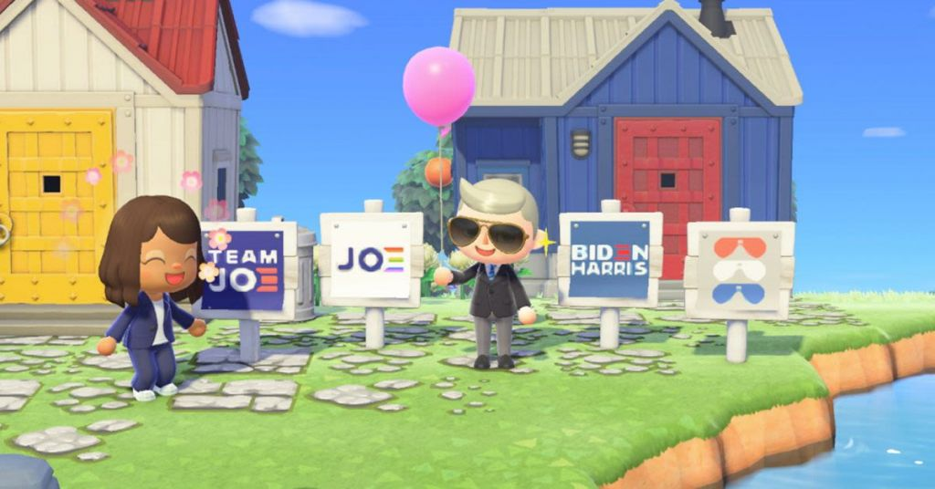 Watch: Nintendo Let Biden Campaign On Online Game But Now Says It Is Not OK?
