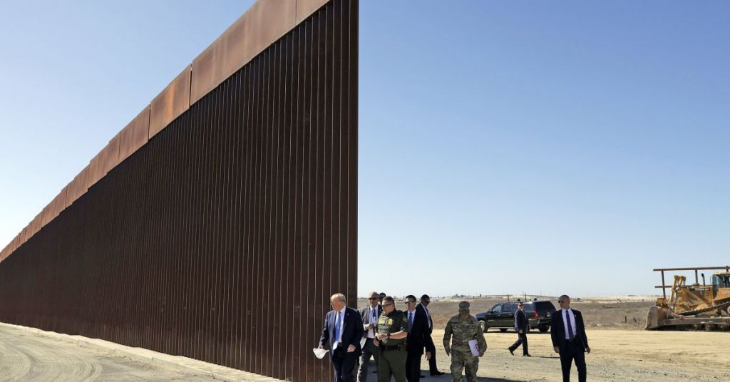 Border Patrol Agents Building The Wall Themselves