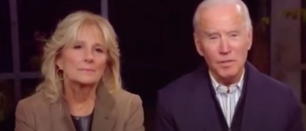 Watch: Biden Forgets Who The President Is On Live TV, As Wife Sits By Squirming