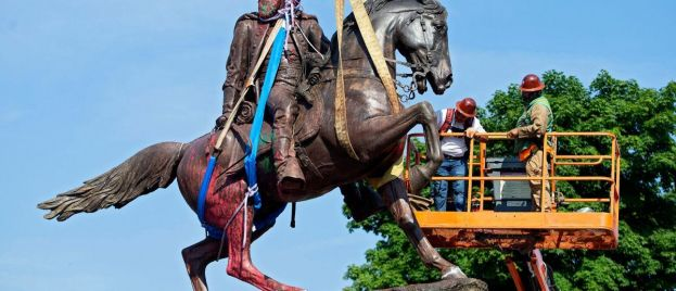 House Democrats include removal of Confederate statues, busts in funding bill