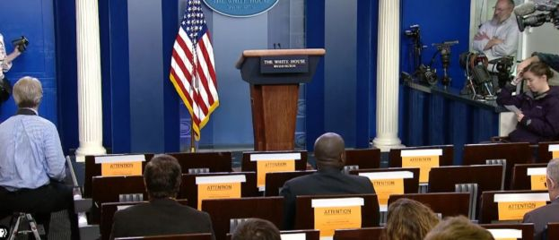 As Trump's Poll Numbers Rise, Media Begin Censoring Press Conferences