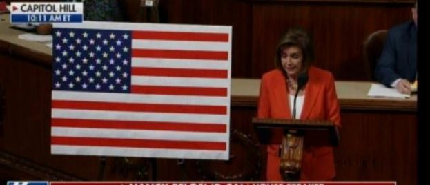 WOW! Pelosi LIES ON HOUSE FLOOR About Giving GOP Equal Rights as Democrats in Impeachment Process! (VIDEO)