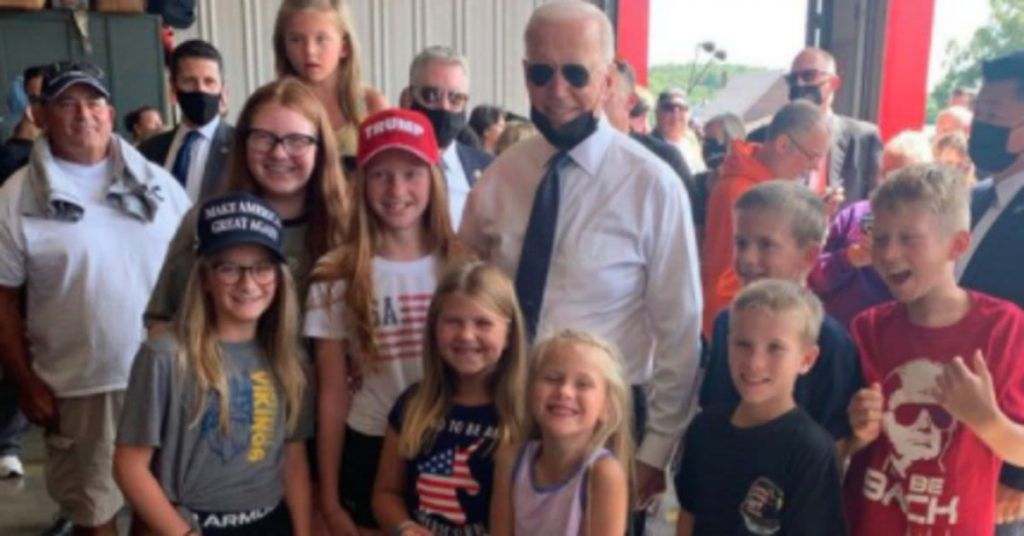 Hysterical: These Trump Loving Kids Punked Biden Big Time