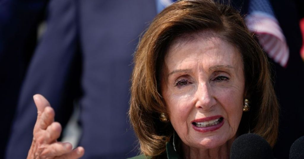 Did Nancy Pelosi Jut Crap On Her Own Family To Score Political Points?