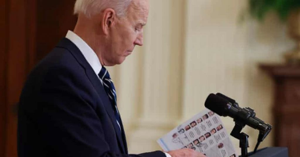 Watch: Biden Loses It With Simple Press Question
