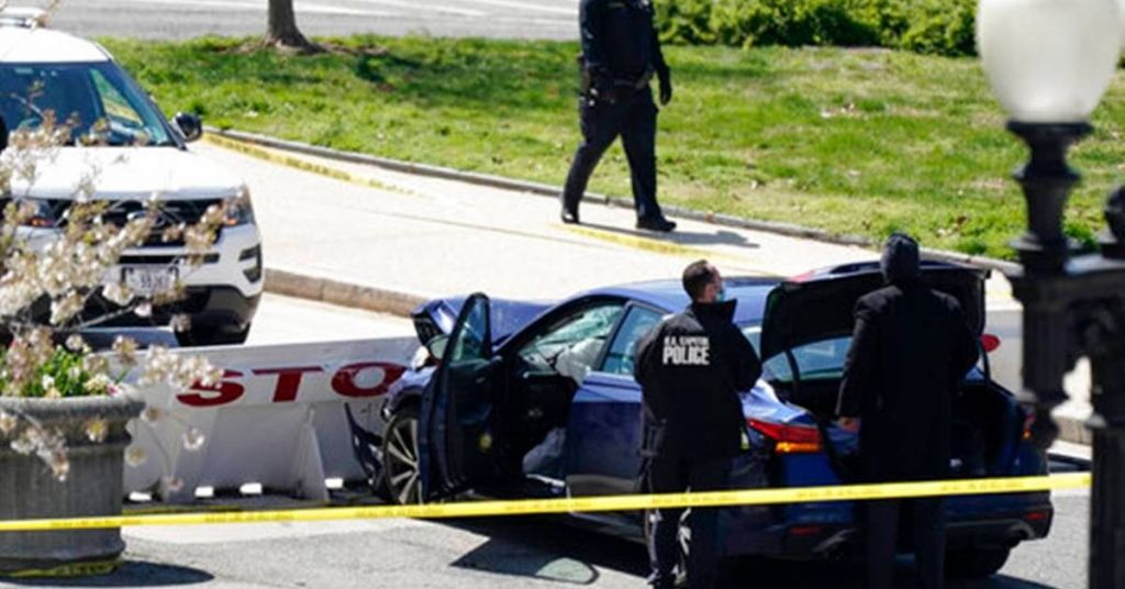 Watch: Media Quiet On Capitol Car Ramming Because Assailant Was Black Muslim