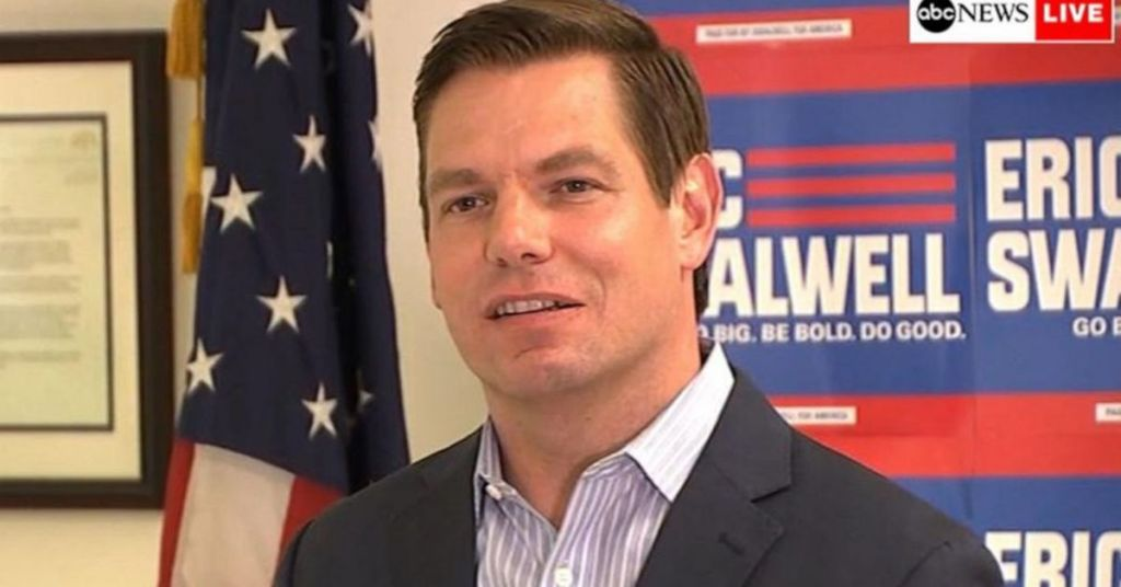 Pretty Boy Swalwell Poses Shirtless On $84K Official Trip