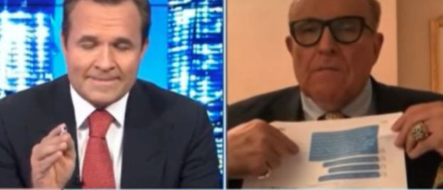 Giuliani Gave Laptop To Delaware DA, Tells Newsmax These Crimes Were Committed