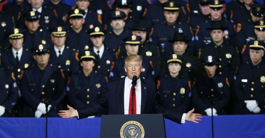 Watch: While Pelosi Gave Troops A Basement Garage, Trump Hotel Opens Its Doors To Police