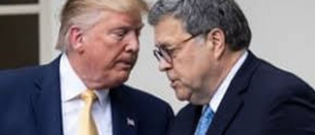 Watch: Trump Will Not Commit To Keeping Bill Barr After Election Victory