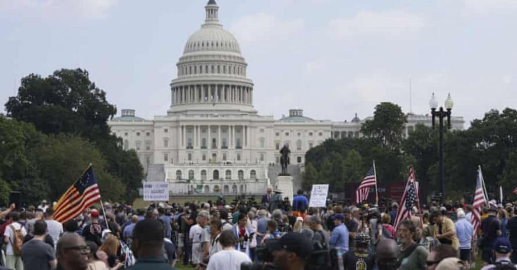 Only Arrest at DC Rally Was An Undercover FBI Agent - (Video)