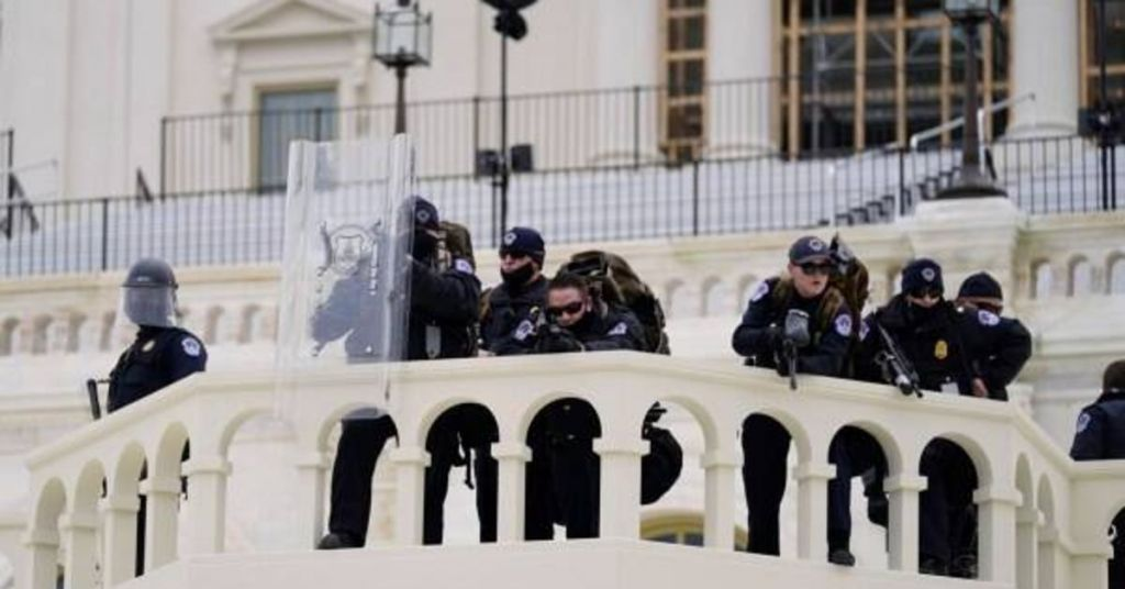 Security Failure During Capitol Hill Breach Is Adding To Evidence That Event Was 'Pre-Planned'