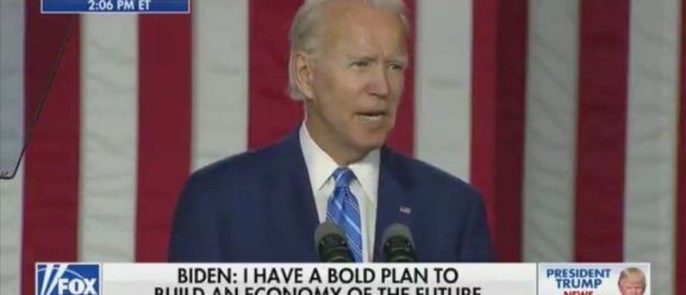"""WTH? Creepy Joe Biden Unveils Bold New Plan """"To Get Our Kids to Market Swiftly"""" (VIDEO)"""